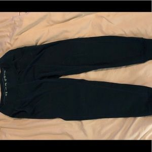 Turquoise full length joggers
